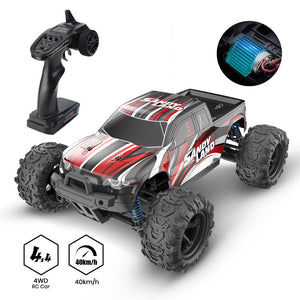 DEERC RC Car High Speed Remote Control Car for Kids Adults 1:18 Scale 30+ MPH 4WD Off Road Trucks 40+ Min Play Gifts for Kids