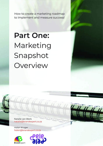 Marketing Snapshot EBook 1 - brandexper