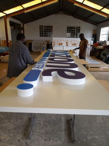 3D Fabricated Signs - brandexper