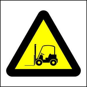 WW20- Beware of Forklifts - brandexper