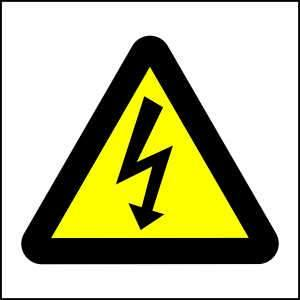 WW7 - Be Ware of Electric Shock - brandexper