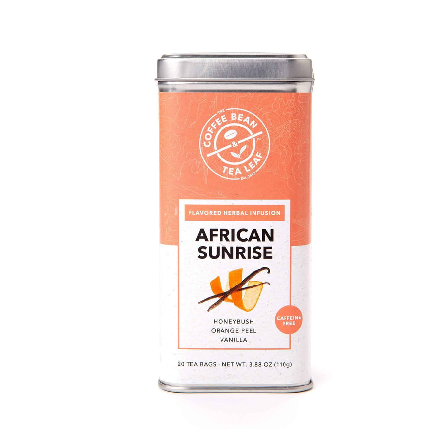 African Sunrise Herbal Tea Bags from The Coffee Bean & Tea Leaf 20ct
