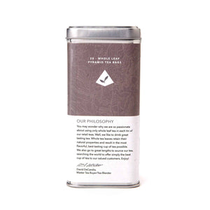 Apricot Ceylon Black Tea Bags from The Coffee Bean & Tea Leaf 20ct - Back