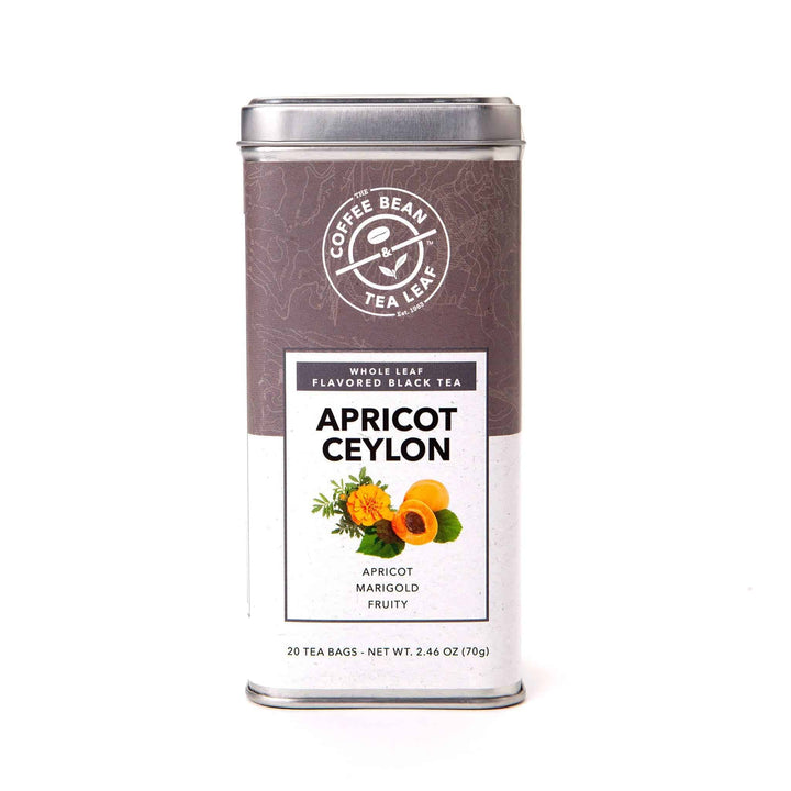 Apricot Ceylon Black Tea Bags from The Coffee Bean & Tea Leaf 20ct