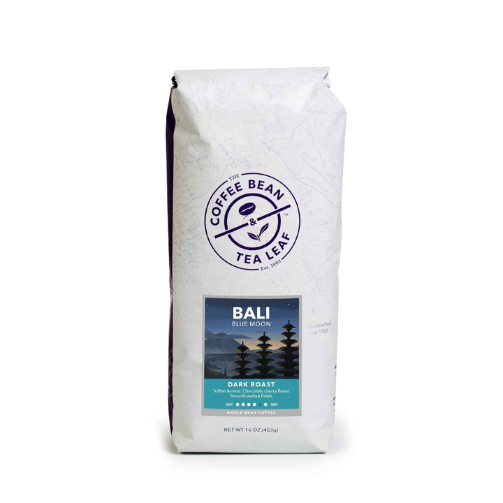 Bali Blue Moon Dark Roast Whole Bean Coffee Beans from Asia by The Coffee Bean & Tea Leaf
