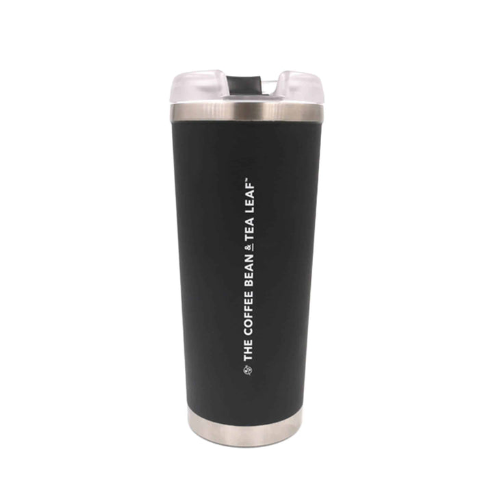 The Brooklyn 24oz Matte Black Tumbler 24oz with Straw from The Coffee Bean & Tea Leaf