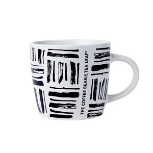 Burrard Black and White Ceramic Mug 14oz from The Coffee Bean & Tea Leaf