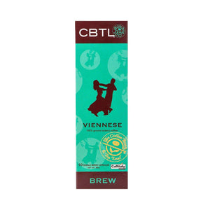 CBTL Viennese Coffee Capsules Single Serve Pods from The Coffee Bean & Tea Leaf 10ct box
