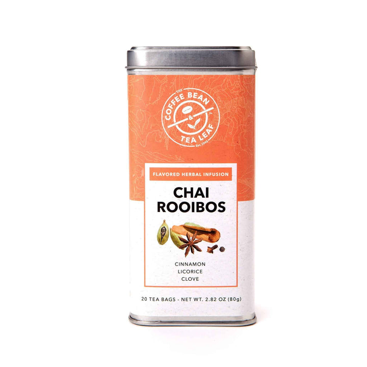 Chai Rooibos Herbal Caffeine Free Tea Bags by The Coffee Bean & Tea Leaf 20ct