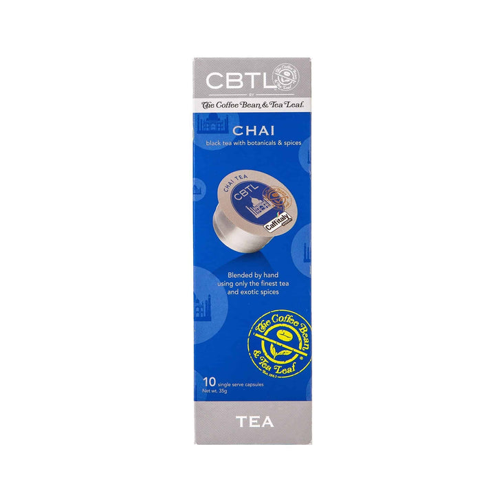 CBTL Chai Tea Single Serve Capsules by The Coffee Bean & Tea Leaf 10ct