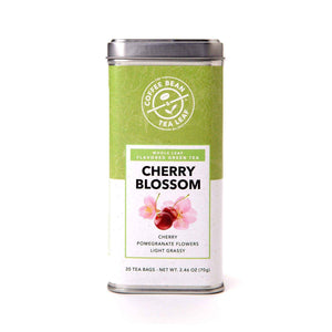 Cherry Blossom Green Tea Bags from The Coffee Bean & Tea Leaf 20ct