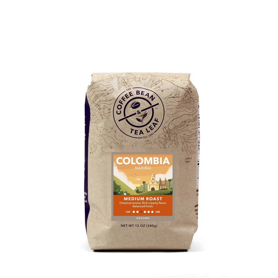 Colombia Narino Medium Roast Ground Coffee 12oz bag by The Coffee Bean & Tea Leaf