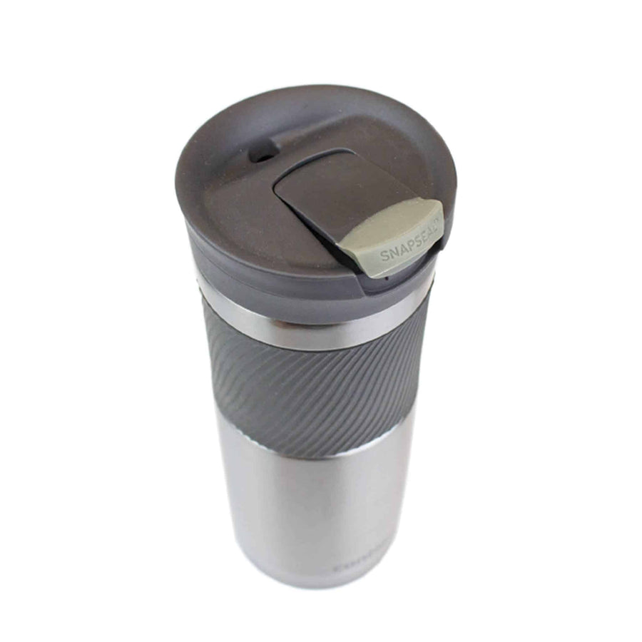 Gun Metal Gray Tumbler Contigo Byron from The Coffee Bean & Tea Leaf 20oz - Back