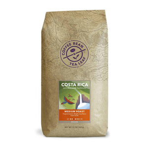 Costa Rica La Cascada Tarrazu Medium Roast Coffee ground 2lb bag by The Coffee Bean & Tea Leaf