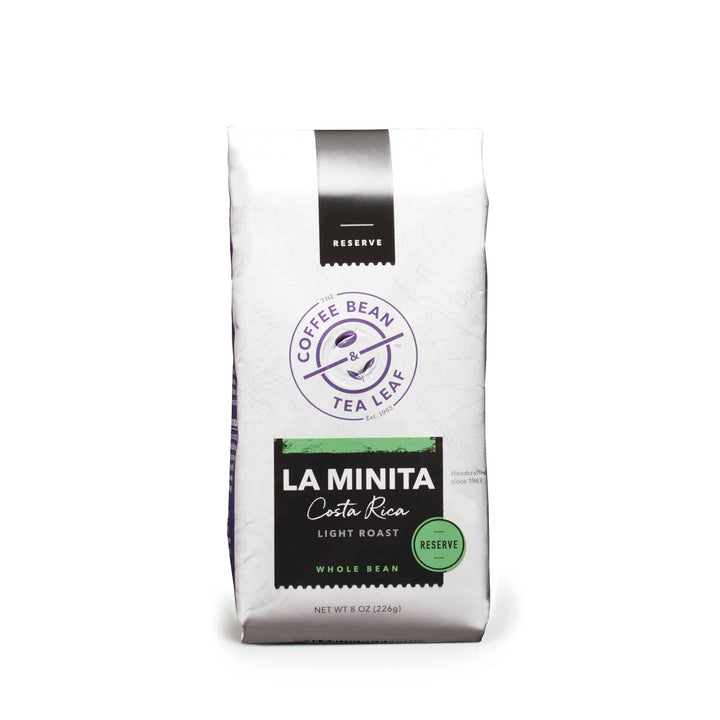 Costa Rica La Minita Coffee Whole Bean 8oz Bag by The Coffee Bean & Tea Leaf