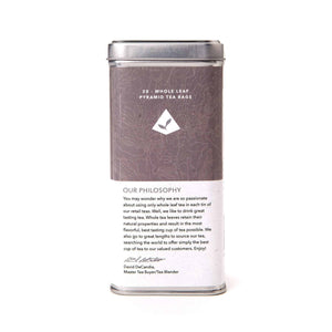 Estate Darjeeling Black Tea Bags by The Coffee Bean & Tea Leaf 20ct - Back