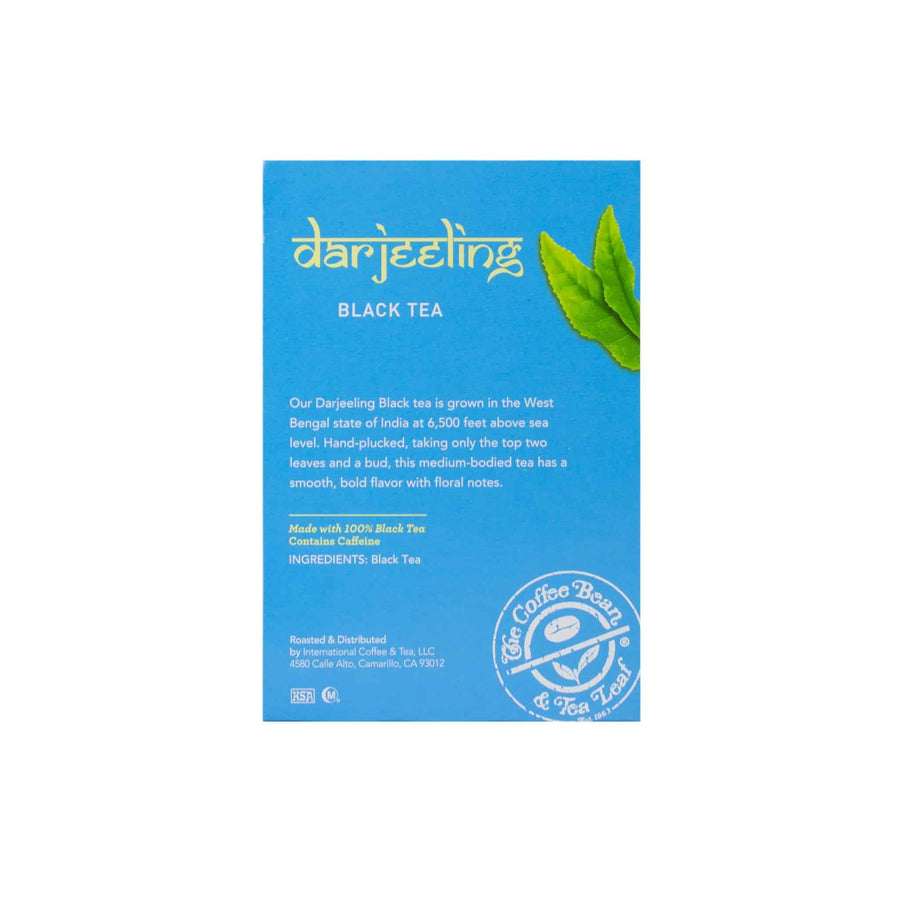 Darjeeling Black Tea Kcups Single Serve Pods from The Coffee Bean & tea Leaf 16ct box - Side 2