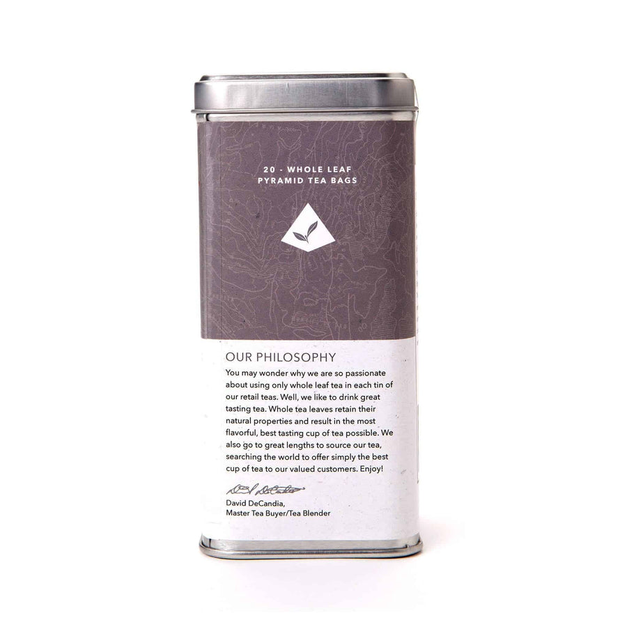 Earl Grey Black Tea Bags from The Coffee Bean & Tea Leaf 20ct - Back