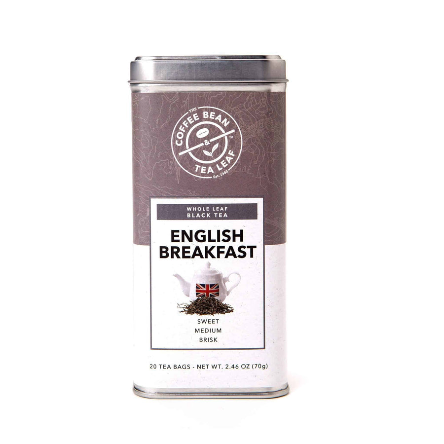 English Breakfast Black Tea Bags from The Coffee Bean & Tea Leaf 20 ct