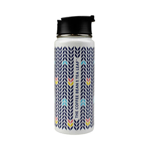 Everest Arrow Stainless Steel 20oz Tumbler from The Coffee Bean & Tea Leaf - Back