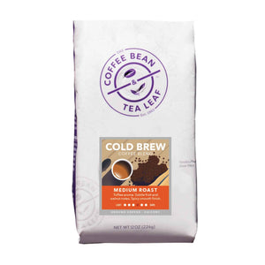 Cold Brew Ground Coffee 12oz bag from The Coffee Bean & Tea Leaf