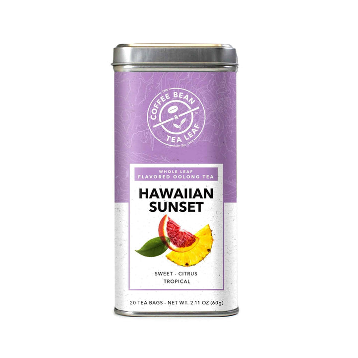 Hawaiian Sunset Oolong Tropical Tea Bags by The Coffee Bean & Tea Leaf 20ct