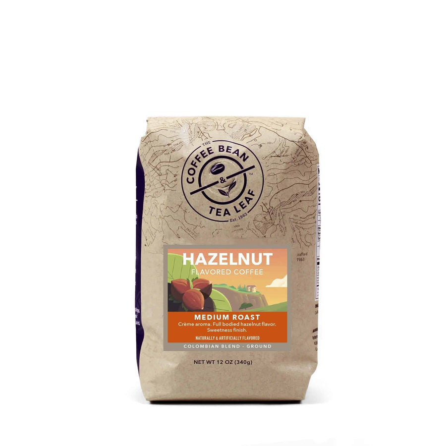 Hazelnut Flavored Ground Coffee 12oz Bags by The Coffee Bean & Tea Leaf