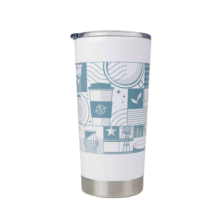 Heritage Stainless Steel Tumbler 20.9oz from The Coffee Bean & Tea Leaf