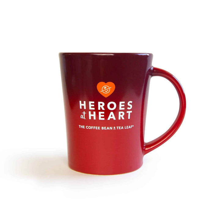Heroes at Heart Red Ceramic Mug 14oz - The Coffee Bean & Tea Leaf® Online Store