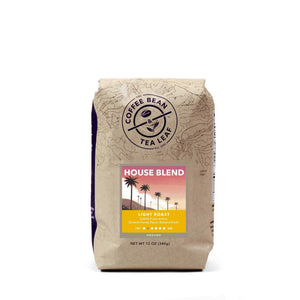 House Blend Coffee Light Roast 12oz Ground bag from The Coffee Bean & Tea Leaf