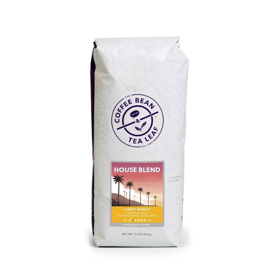 House Blend Coffee Light Roast Whole Bean 1lb Bag from The Coffee Bean & Tea Leaf