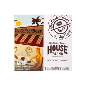 House Blend Coffee Kcups Single Serve Pods from The Coffee Bean & Tea Leaf 16ct box