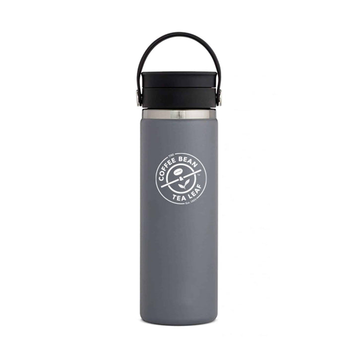 Hydro Flask 20oz Gray with Flex Sip from The Coffee Bean & Tea Leaf