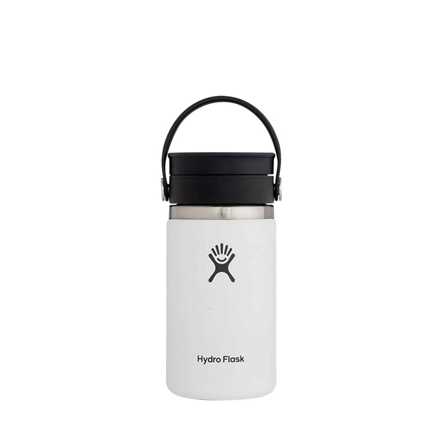 Hydro Flask 12oz White with Flex Sip from The Coffee Bean & Tea Leaf - Back