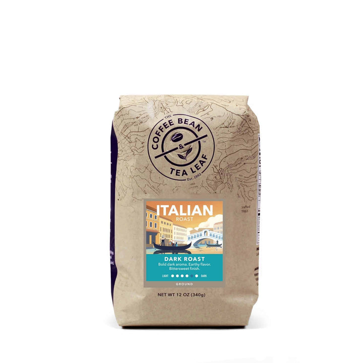Italian Dark Roast Coffee ground 12 oz bag by The Coffee Bean & Tea Leaf