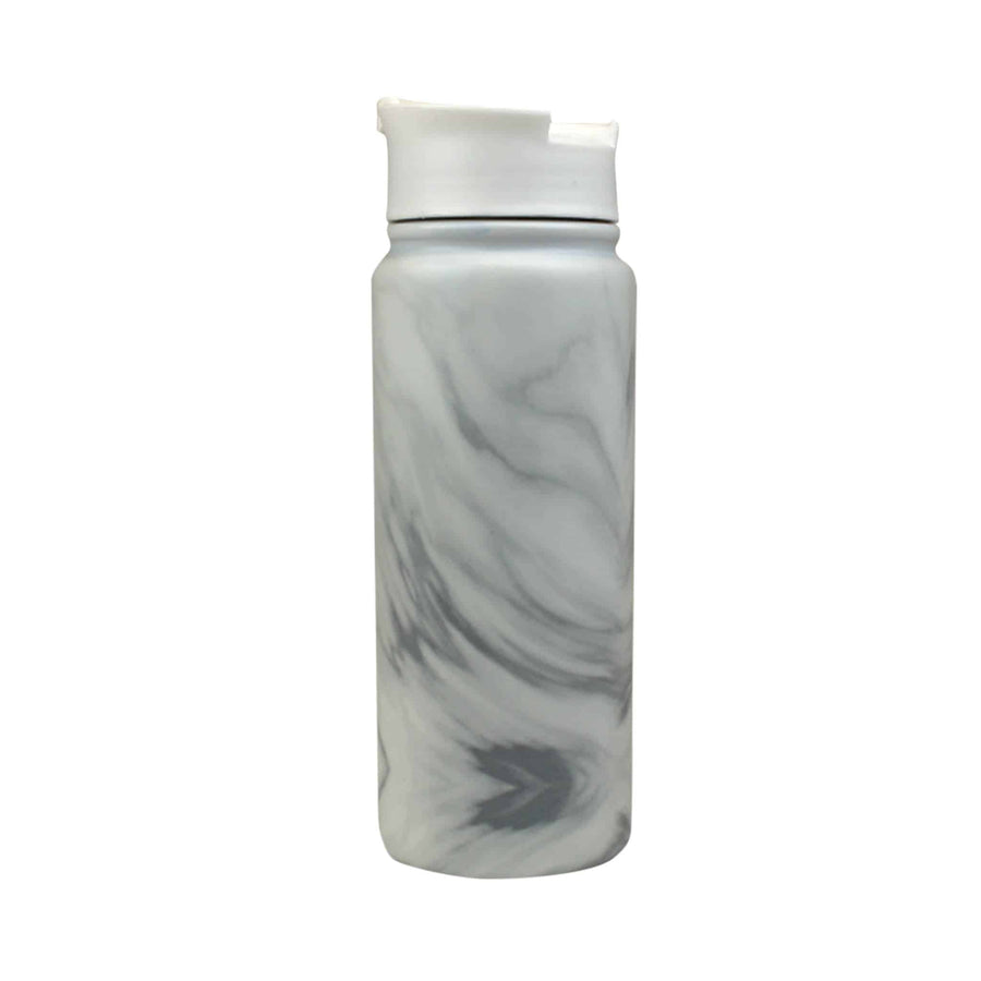 Marble Stainless Steel Tumbler from The Coffee Bean & Tea Leaf 16oz - Back