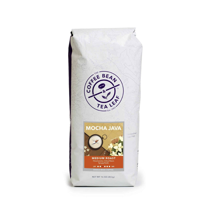 Mocha Java Medium Roast Coffee Beans by The Coffee Bean & Tea Leaf