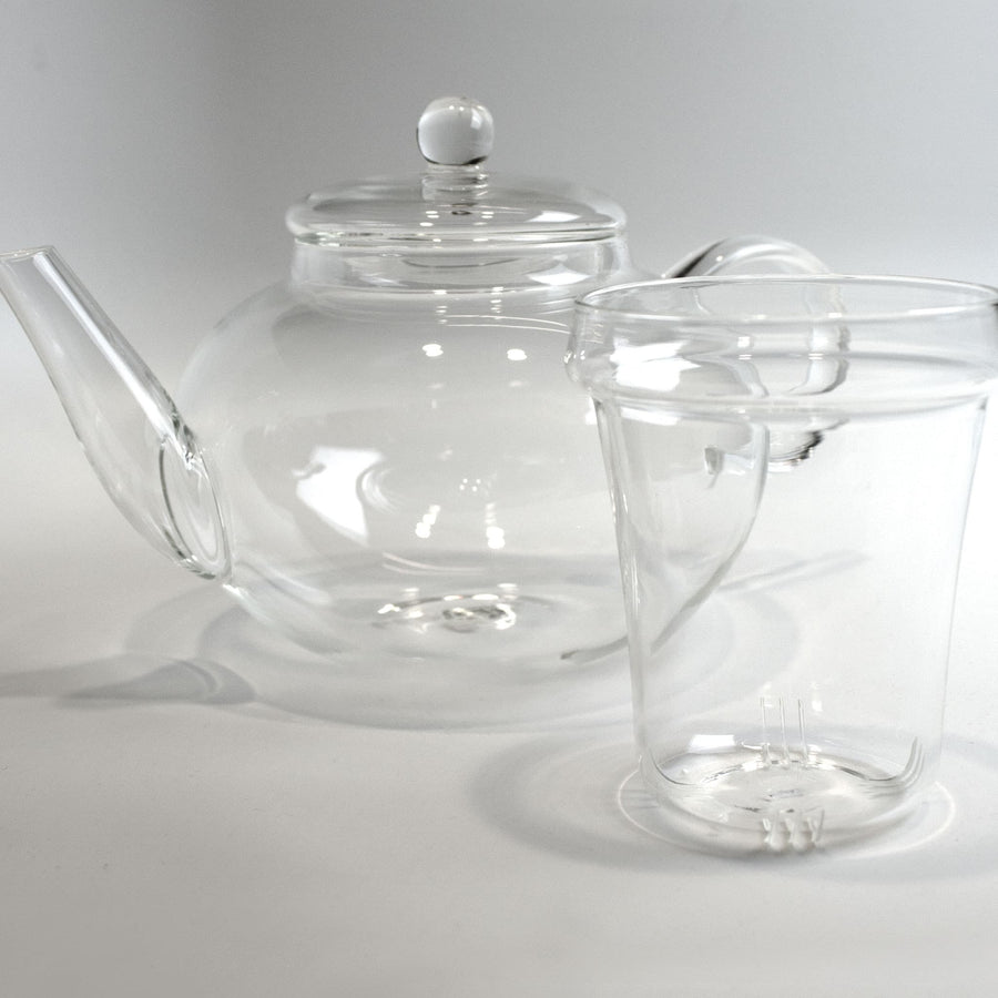 Monaco Glass Teapot with removable Infuser 42oz