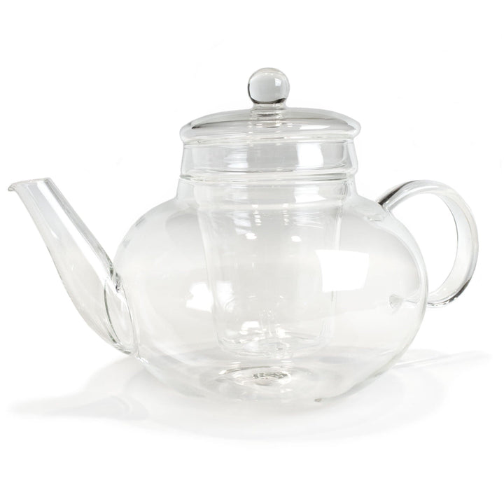 Monaco Glass Teapot with Removable Infuser 42oz from The Coffee Bean & Tea Leaf