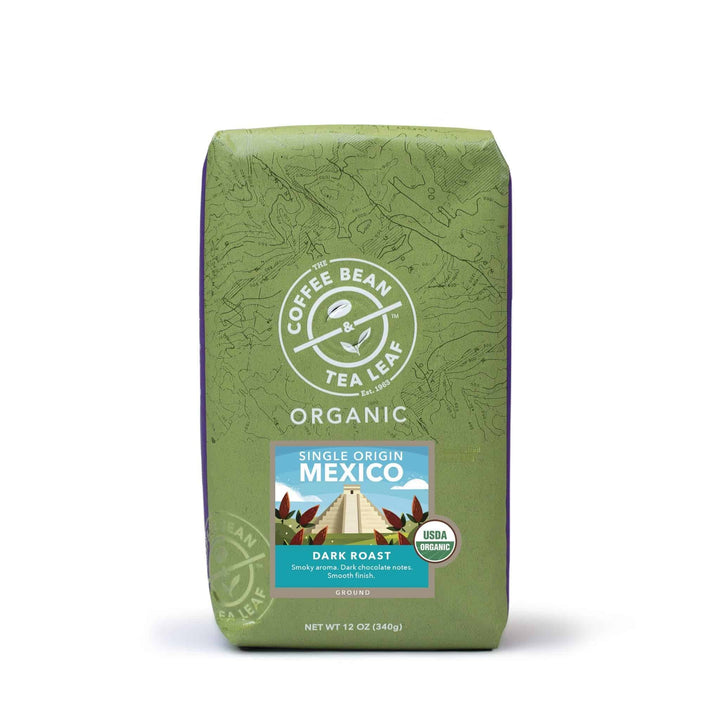 Organic Mexico Dark Ground Coffee 12oz bag by The Coffee Bean & Tea Leaf