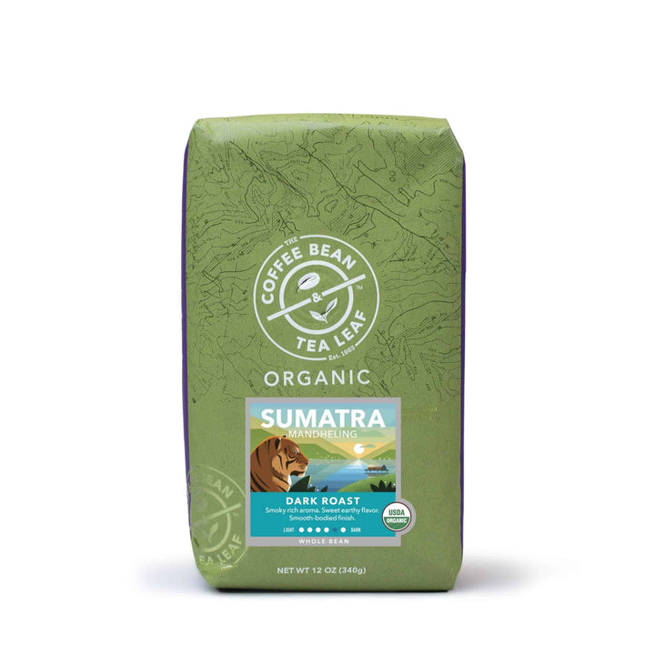 Organic Sumatra Whole Bean Coffee 12oz bag by The Coffee Bean & Tea Leaf