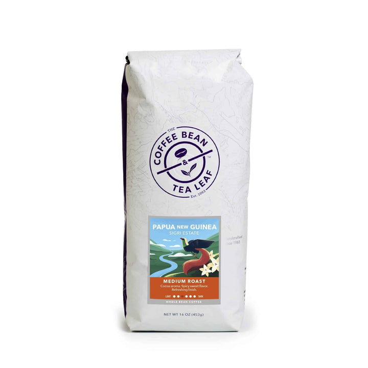 Papua New Guinea Sigri Medium Roast Coffee by The Coffee Bean & Tea Leaf