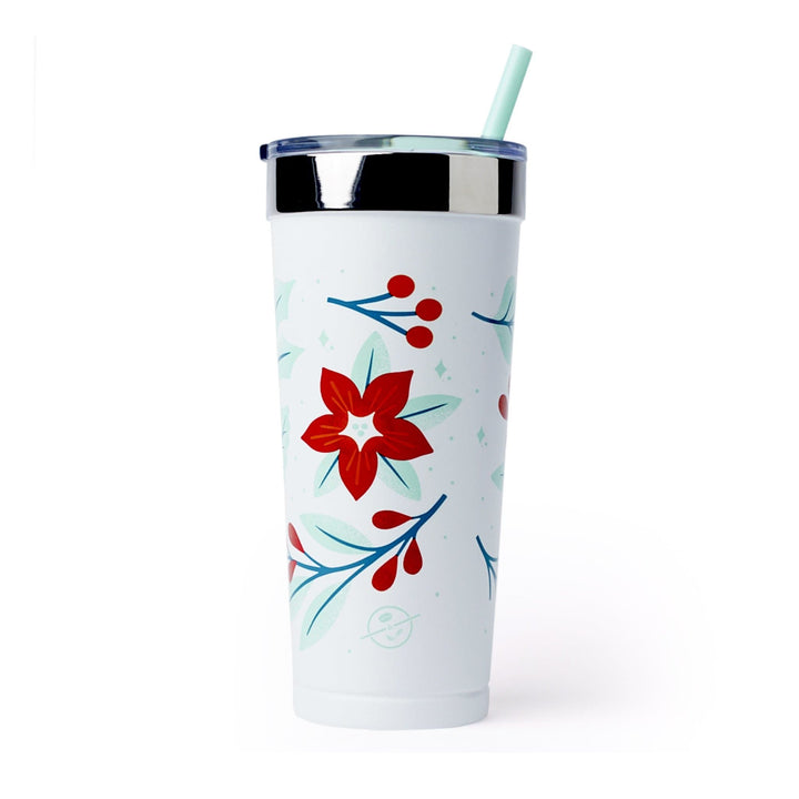 Polar Holiday Seasonal Holly Tumbler from The Coffee Bean & Tea Leaf