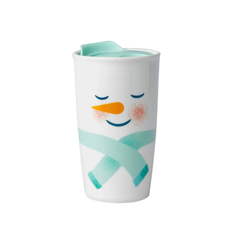 Snowman Ceramic Tumbler 12oz from The Coffee Bean & Tea Leaf