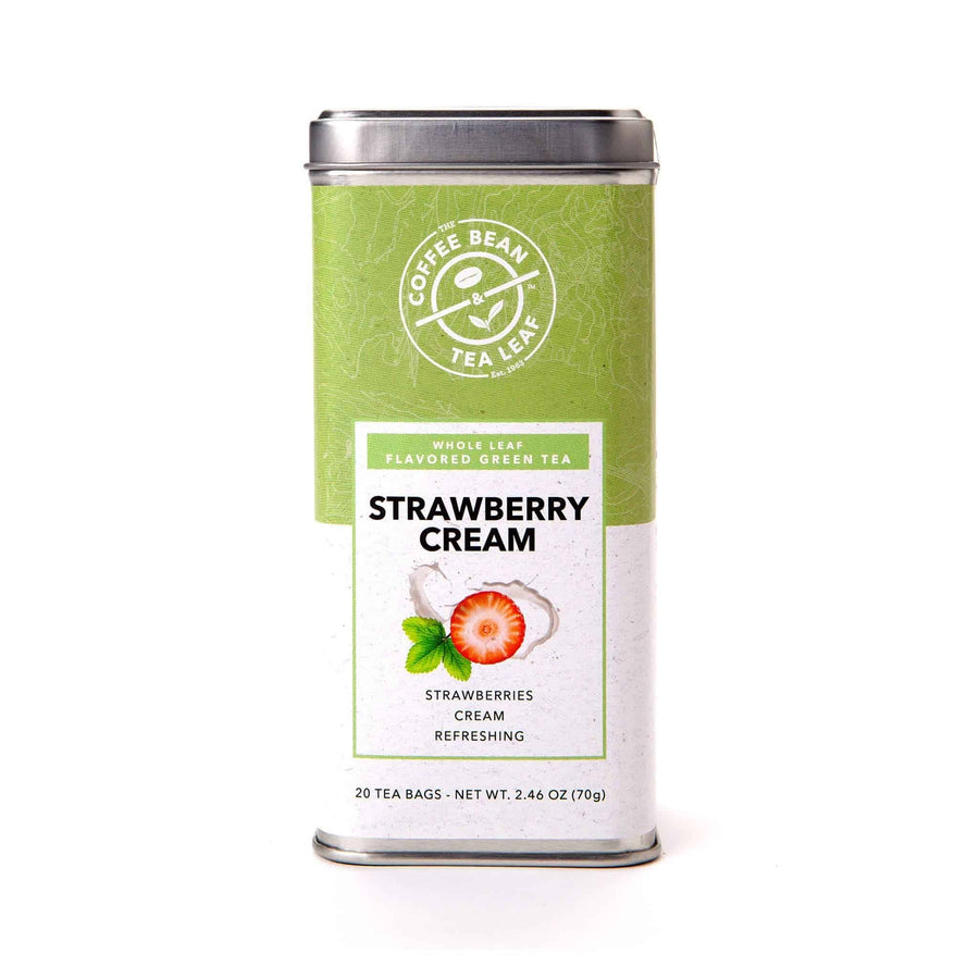 Strawberry Cream Green Tea bags from The Coffee Bean & Tea Leaf 20 ct