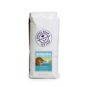 Sumatra Mandheling Dark Roast Coffee 1lb Bag Whole Bean from The Coffee Bean & Tea Leaf