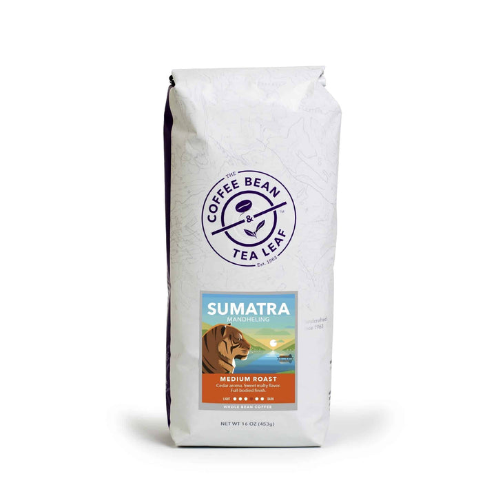 Sumatra Medium Roast Coffee 1lb Whole Bean by The Coffee Bean & Tea Leaf
