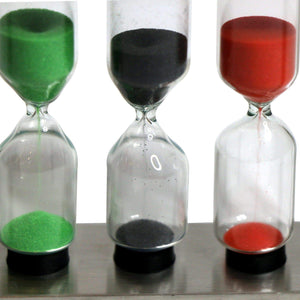 Colored Sand Tea Timers from The Coffee Bean & Tea Leaf