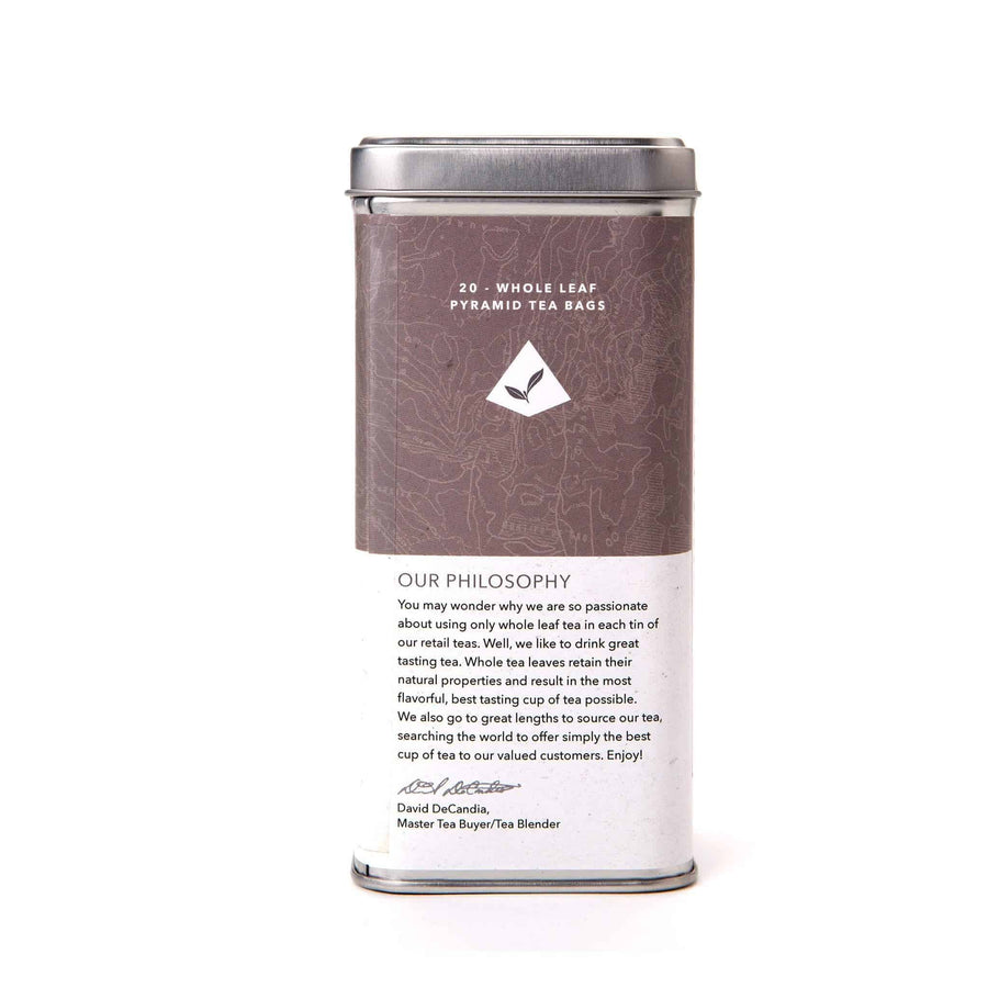 Vanilla Ceylon Black Tea Bags from The Coffee Bean & Tea Leaf 20ct - Back