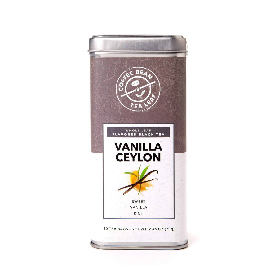 Vanilla Ceylon Black Tea Bags from The Coffee Bean & Tea Leaf 20ct
